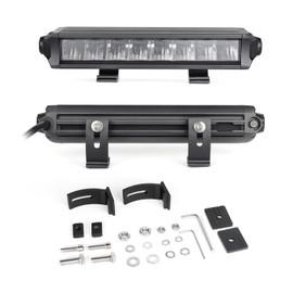 "6""-10"" Fog + Strobe LED Razor SAE Light Bar Add-on Without Switch+Wire"