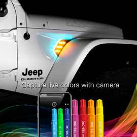 Chameleon function capture colors with camera