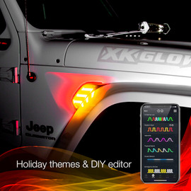 Over 15 holiday themes and DIY theme builder