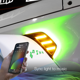 Sync light to music