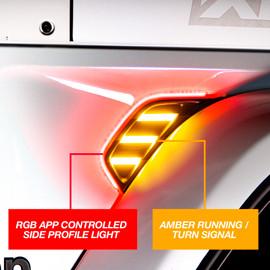 RGB+AMBER TURN SIGNAL RUNNING LIGHT