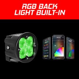 Fog Light Mount C3 Cube Light Fog/Driving/Spot/Flood