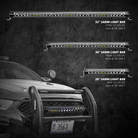 SAR 360 Degree Search & Rescue Light Bar System