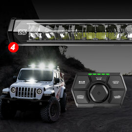 SAR 360 Degree 4pc Search & Rescue  Light Bar System