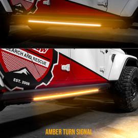 Amber turn signal sync