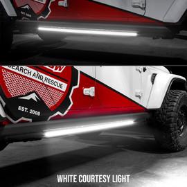 White courtesy light