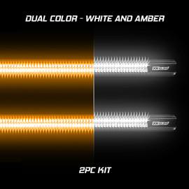 Dual Color LED Light Bars. 2pc Kit.