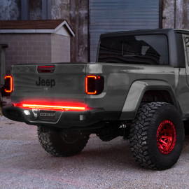 48inch Truck Tailgate LED Light Bar w/ Sequential Turn Signal