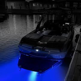RGB LED Drain Plug Light for Marine