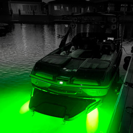 60W RGB LED Underwater Light for Boat