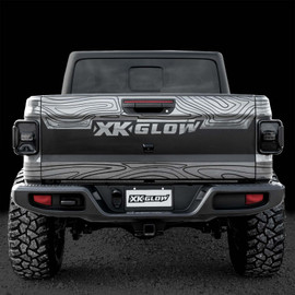 LED Smoked Lens Tail Light Kit for Jeep Gladiator JT with Brake Turn Reverse