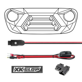 XKchrome LED Grill Kit - What's Included