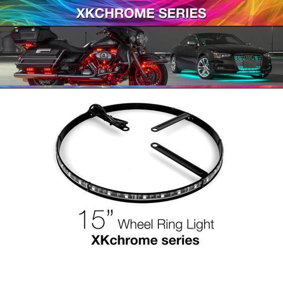 "15"" Wheel Ring Xkchrome App Controlled RGB Light"