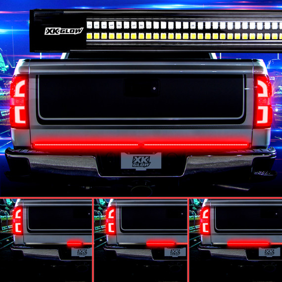 "2nd Gen 60"" Truck Tailgate Light w/ Chasing Turn Signal"