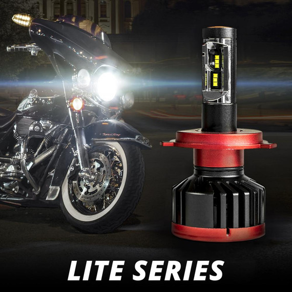 Motorcycle Lite Series Driverless LED Headlight Conversion Kit