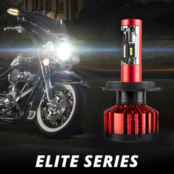 Elite Series LED Motorcycle Headlight Error-free Conversion Kit