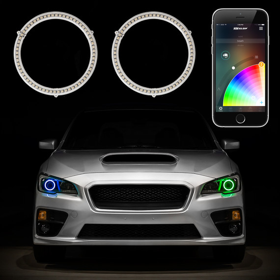 2pc RGB Halos with App Control Functions