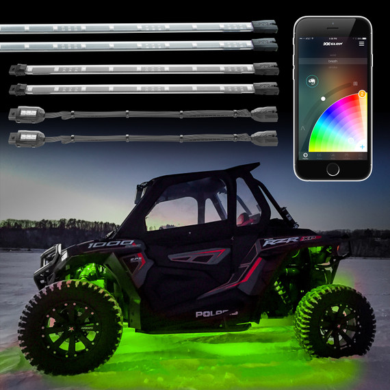 XKchrome App Control LED Accent UTV / ATV Light Kit