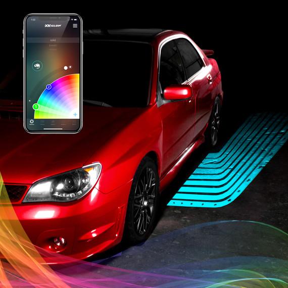 CurbFX RGB Projector Kit | XKchrome Smartphone App
