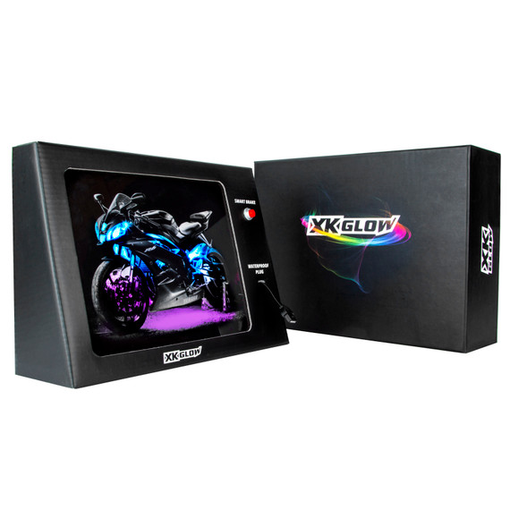 Battery Powered Mobile XKGLOW Display - R6 sport bike