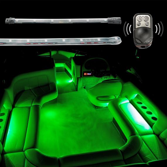 2 Million Color Remote Control Boat Interior Accent Neon Light Kit