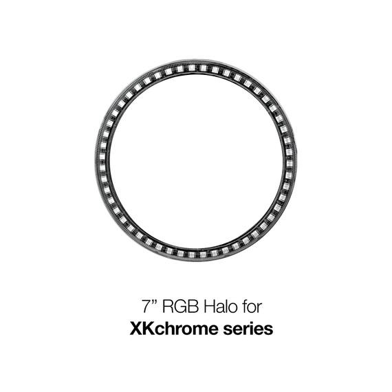 "1pc 7"" RGB Halo External Ring-No Controller"
