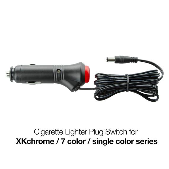 12V Cigaret Lighter ON/OFF Plug with DC plug output