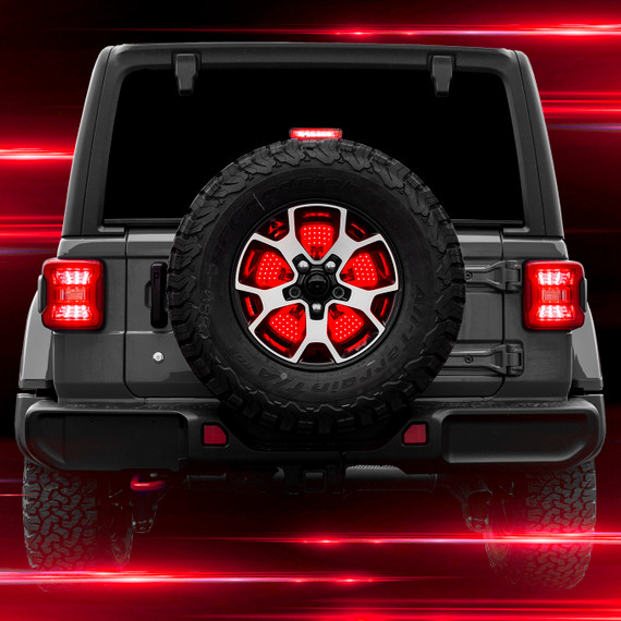 Jeep 5th Wheel Light w/ Brake, Running, Reverse and Turn Signal Functions