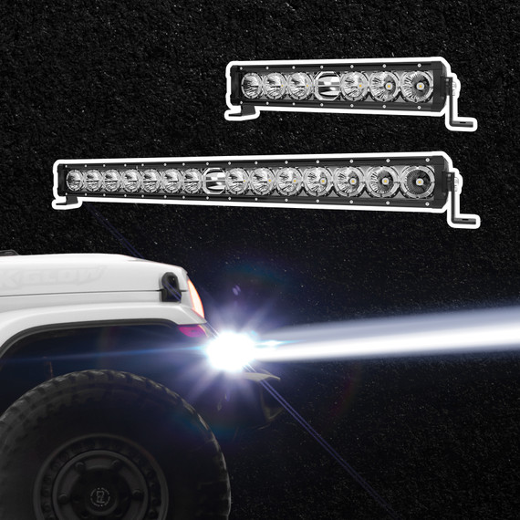 Light Bar with Laser Lens