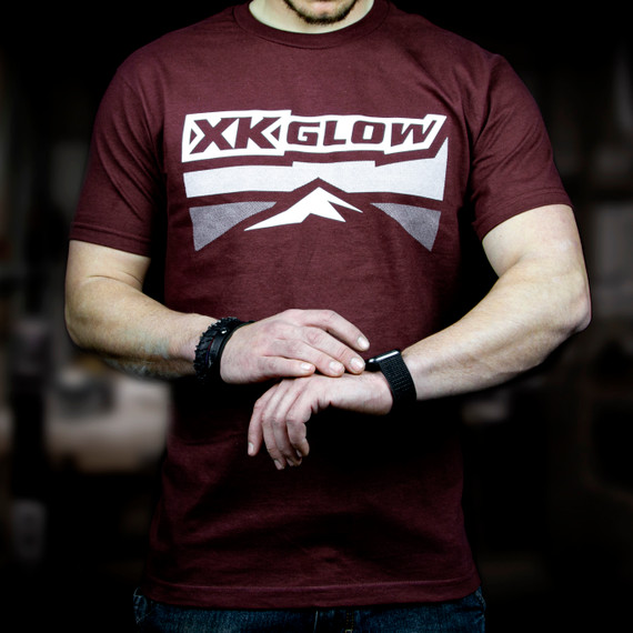 XKGLOW T-Shirt front Red