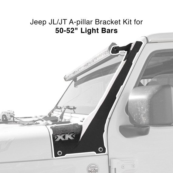 "Jeep JT JL A-pillar 50-52"" Bar Bracket"