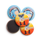 Fridge Magnet badges 64mm
