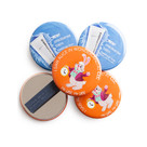 Magnet Fastener 57mm Badges