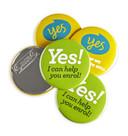Sample Pack Magnet Fastener Badges