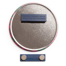 Promotional Badge with Magnetic Fastener