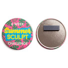 Magnetic Fastener Badges