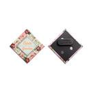 Diamond Shape Badge with magnet fastener