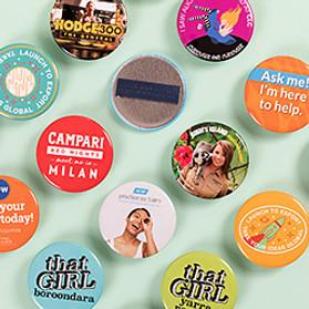 Magnet Fastener Badges