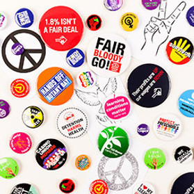 Protest Badges