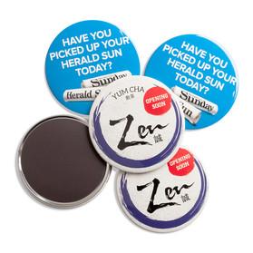 Custom 75mm Magnet badge