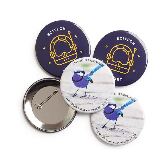 Promotional Badges 64mm