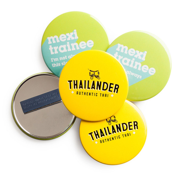 Custom Badges Magnet Fastener 75mm