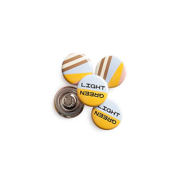 Custom Printed Badges Magnet Fastener