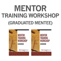 Mentor Training Workshop (Graduated Mentee Kit)