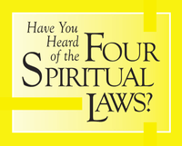 Four Spiritual Laws - Set of 25