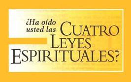 Four Spiritual Laws - Set of 25 (Spanish)