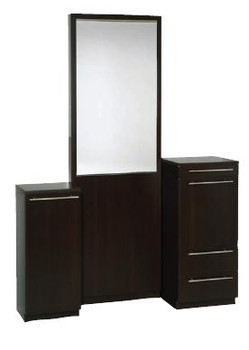 Belvedere Kalli Floor Vanity With Mirror