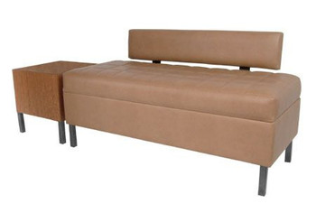 Collins Enova Waiting Bench with Lumbar Back Support
