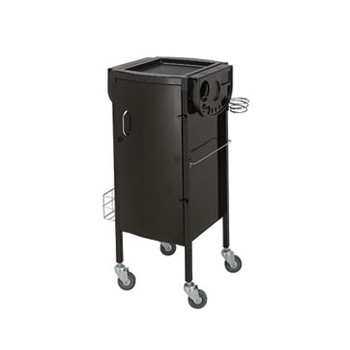 Paragon Metal Hair Trolley with lockable door and drawers