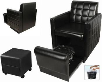 Collins Club Pedi Nouveau Chair/ with FREE Footsie Bath